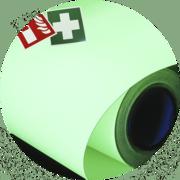 Пленка ПВХ светящаяся AcmeLight FES для маркировки систем безопасности